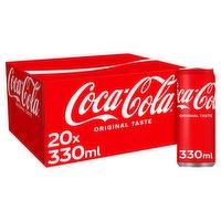 Coca-Cola Original Taste 20 x 330ml