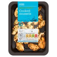 Dunnes Stores Garlic & Parsley Cooked Mussels 90g