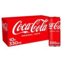 Coca-Cola Original Taste 10 x 330ml