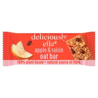 deliciously ella Apple & Raisin Oat Bar 50g