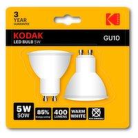 Kodak LED GU10 5W 50W 2PK