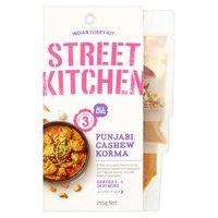 Street Kitchen Indian Curry Kit Punjabi Cashew Korma 255g