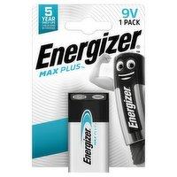 Energizer Max Plus 9V Batteries, Alkaline