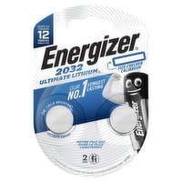 Energizer 2032 Ultimate Lithium Coin Battery 2 Pack