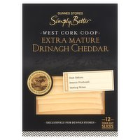 Dunnes Stores Simply Better Extra Mature Drinagh Cheddar 180g