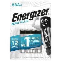 Energizer® MAX PLUS™ Alkaline AAA Batteries, 4 Pack