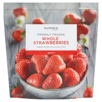 Dunnes Stores Freshly Frozen Whole Strawberries 340g