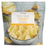 Dunnes Stores Freshly Frozen Pineapple Chunks 340g