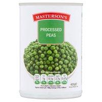 Masterson's Processed Peas 420g
