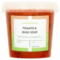 Baxter & Greene Tomato & Basil Soup 600g