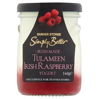 Dunnes Stores Simply Better Irish Made Tulameen Irish Raspberry Yogurt 140g