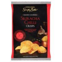 Dunnes Stores Simply Better Sriracha Chilli Crisps 125g