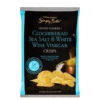 Dunnes Stores Simply Better Clogherhead Sea Salt & White Wine Vinegar Crisps 125g