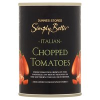 Dunnes Stores Simply Better Italian Chopped Tomatoes 400g