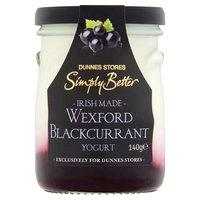Dunnes Stores Simply Better Irish Made Wexford Blackcurrant Yogurt 140g