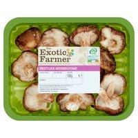 The Exotic Farmer Shiitake Mushrooms 100g