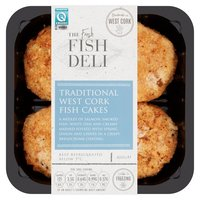The Fresh Fish Deli Traditional West Cork Fish Cakes 400g