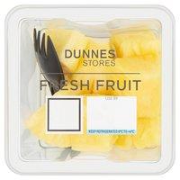 Dunnes Stores Fresh Fruit Pineapple Chunks 130g