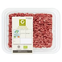 Dunnes Stores Organic Round Steak Irish Beef Mince 380g