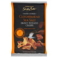Dunnes Stores Simply Better Clogherhead Sea Salt Sweet Potato Crisps 115g