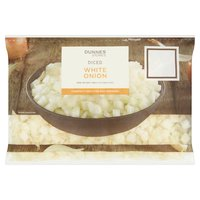 Dunnes Stores Diced White Onions 450g