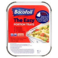 Bacofoil The Easy Portion Trays
