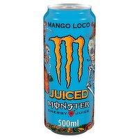 Monster Mango Loco Energy + Juice 500ml