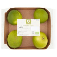 Dunnes Stores Organic 4 Unwaxed Citrus Limes