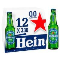 Heineken 0.0 Alcohol Free Lager 12 x 330ml