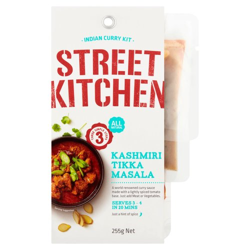 A world renowned curry sauce made with a lightly spiced tomato base.<br/><br/><b>Features</b><br/>Chilli rating - 1<br/>All natural<br/>Three simple steps<br/>Just a hint of spice<br/>Serves 3-4 in 20 mins<br/>Also great with beef, seafood or vegetables<br/>Suitable for vegetarians<br/><br/><b>Lifestyle</b><br/>Suitable for Vegetarians<br/><br/><b>Pack Size</b><br/>255g ℮<br/><br/><b>Allergy Advice</b><br/>Almonds - Contains<br/>Tree Nuts - Contains<br/>Milk - Contains<br/>Gluten - May Contain<br/><br/><b>Usage Other Text</b><br/>Servings per package: 4; Serving size: 64g<br/><br/><b>Usage Count</b><br/>Number of uses - Servings - 4<br/><br/><b>Ingredients</b><br/>Water<br/>Onion<br/>Tomatoes<br/>Ginger<br/>Garlic<br/>Herb & Spices<br/>Sunflower Oil<br/>Vinegar<br/>Yoghurt Powder (<span style='font-weight: bold;'>Milk</span>)<br/>Salt<br/>Corn Starch<br/>Sugar<br/><span style='font-weight: bold;'><span style='font-weight: bold;'>Almond</span> Meal</span><br/>Food Acid (Citric Acid)<br/>Natural Colours (Paprika & Turmeric Oleoresins)<br/>Vegetable Gums (Xanthan, Guar)<br/><br/><b>Allergy Advice</b><br/>For allergens, see ingredients in <span style='font-weight: bold;'>bold</span><br/><br/><br/><b>Allergy Text</b><br/><span style='font-weight: bold;'>Contains Milk & Tree NutsMay contain Gluten</span><br/><br/><br/><b>Storage Type</b><br/>Ambient<br/><br/><b>Storage</b><br/>Store unopened in a cool dry location<br/><br/><b>Preparation and Usage</b><br/>Just add Meat or Vegetables.<br/><br/>Country of Origin - India<br/><br/><b>Origin</b><br/>Product of India<br/><br/><b>Company Name</b><br/>Worldwide Food Associates / Rodrigo Trading<br/><br/><b>Company Address</b><br/>EU & UK:<br/> Worldwide Food Associates,<br/> Unit 5A Dovecote Court,<br/> Stanley Grange Business Village,<br/> Merseyside,<br/> L34 4AR.<br/> <br/> Ireland:<br/> Rodrigo Trading,<br/> Kanturk,<br/> P51 W0Y3,<br/> Co. Cork,<br/> Ireland.<br/><br/><b>Telephone Helpline</b><br/>EU & UK: +44 0151 214 3075<