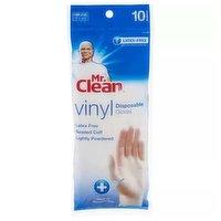Mr. Clean Disposable Vinyl Glove, 10 Each