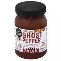 Culinary Tours Salsa, Ghost Pepper, Extra Hot, 16 Ounce