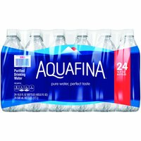 Aquafina Purified Water, 16.9 Ounce