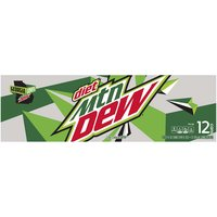 Diet Mountain Dew, Cans (Pack of 12), 12 Ounce