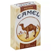 Camel Cigarettes, Filters, Turkish, Box, 1 Each