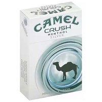 Camel Crush Menthol Silver Cigarettes, Box, 1 Each