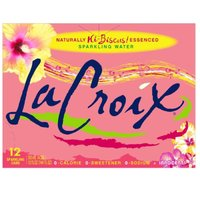 LaCroix Hibiscus Sparkling, Cans (Pack of 8), 12 Ounce