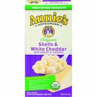 Annie's Macaroni & Cheese, Shells & White Cheddar, 6 Ounce