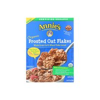 Annie's Organic Frosted Oat Flakes Cereal, 10.8 Ounce