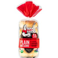 Dave's Killer Bread Organic Plain Awesome Bagels, 16.75 Ounce