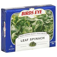 Birds Eye Fresh Leaf Spinach, 10 Ounce