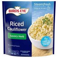 Birds Eye Steamfresh Veggie Made Riced Cauliflower, Lightly Sauced, 10 Ounce