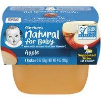 Gerber 1st Baby Food, Apple , 2 Ounce