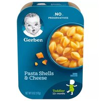Gerb Lil Pasta Shells Cheese, 6 Ounce