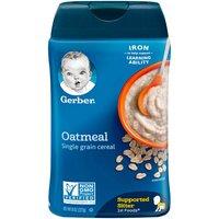 Gerber Oatmeal Cereal, 8 Ounce
