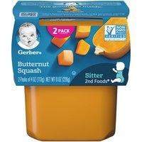 Gerber 2nd Baby Food, Butternut Squash , 4 Ounce