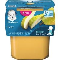 Gerber 2nd Baby Food, Pear, 4 Ounce