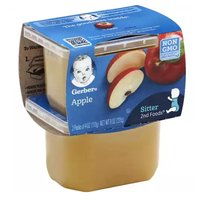 Gerber 2nd Foods, Apple Sauce (Pack of 2), 4 Ounce