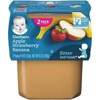 Gerber 2nd Baby Food, Apple Strawberry Banana , 4 Ounce