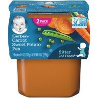 Gerber 2nd Foods Carrot Sweet Potato Pea, 4 Ounce